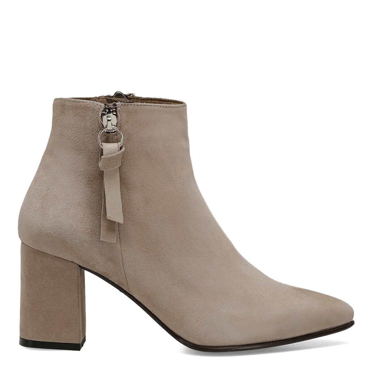 GOYA Vizon Kadın Topuklu Ayakkabı