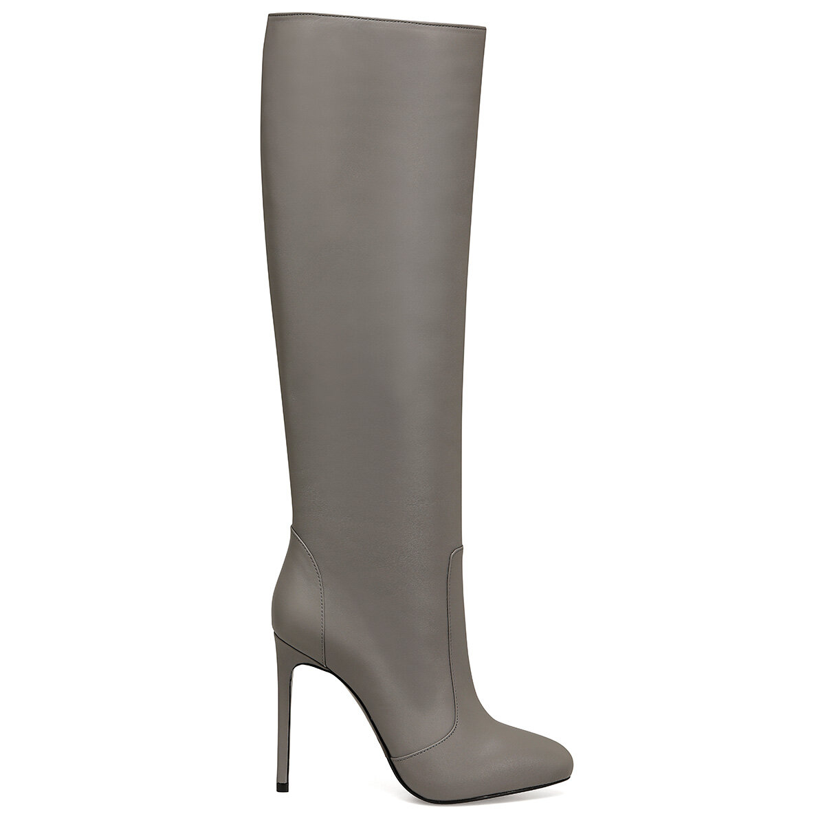 TANA Gri Kadın Topuklu Çizme