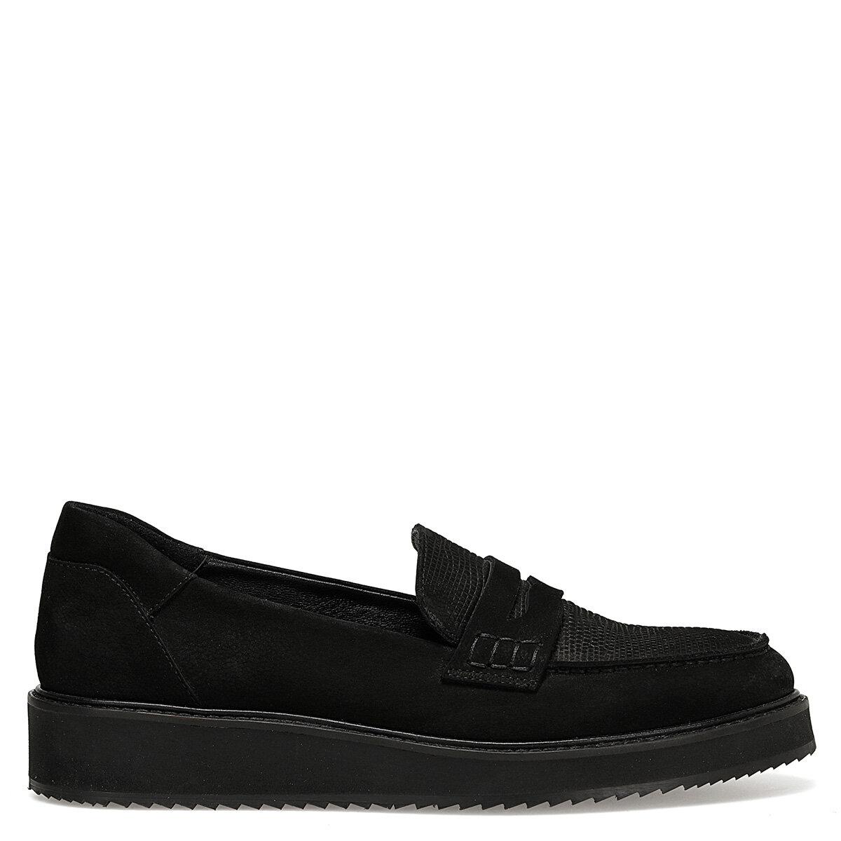WELA Siyah Kadın Loafer Ayakkabı