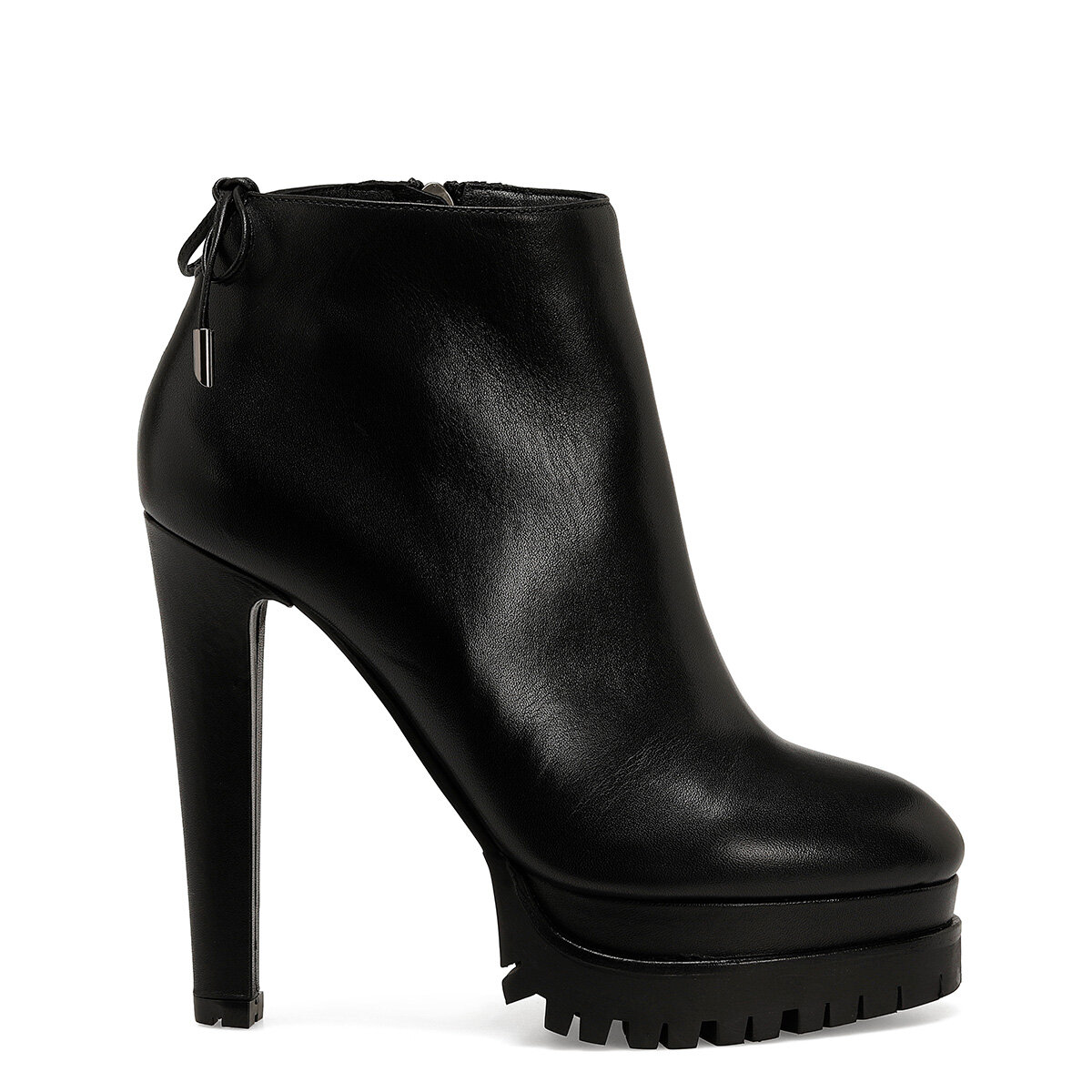 NIXA Siyah Kadın Topuklu Bot