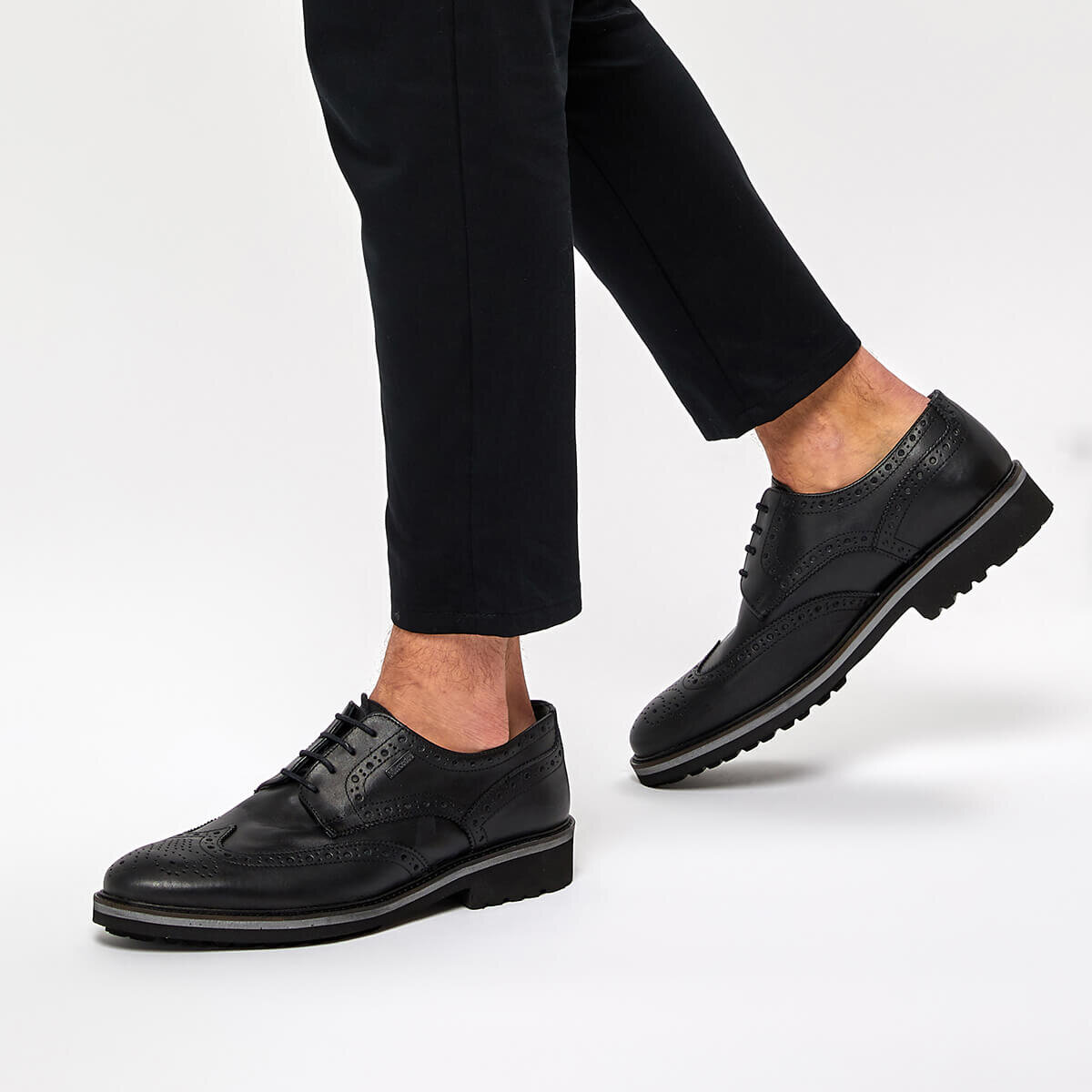 Mercedes RAHAL Siyah Erkek Klasik Ayakkabı 100337567 | Flo