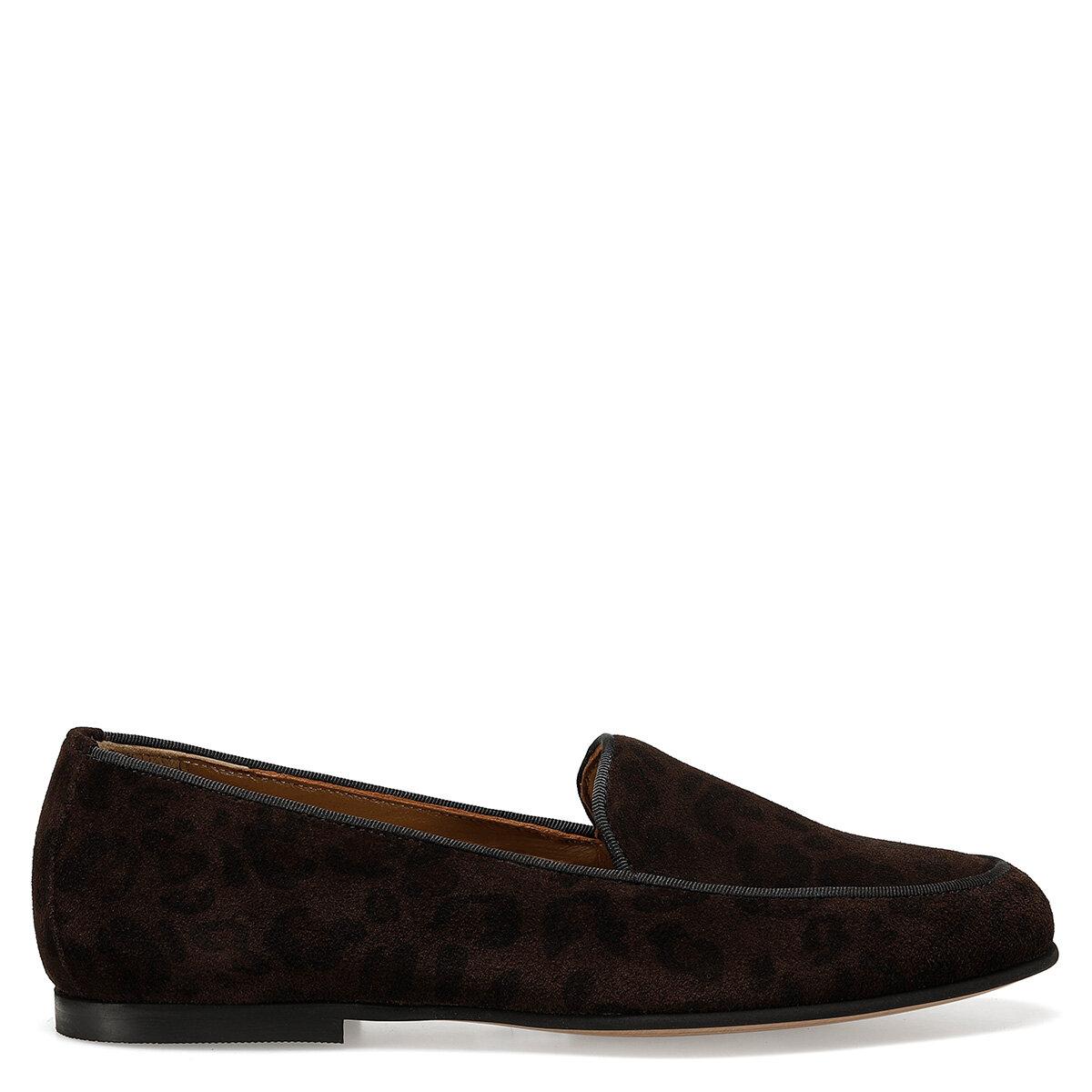 GARME Kahverengi Kadın Loafer Ayakkabı