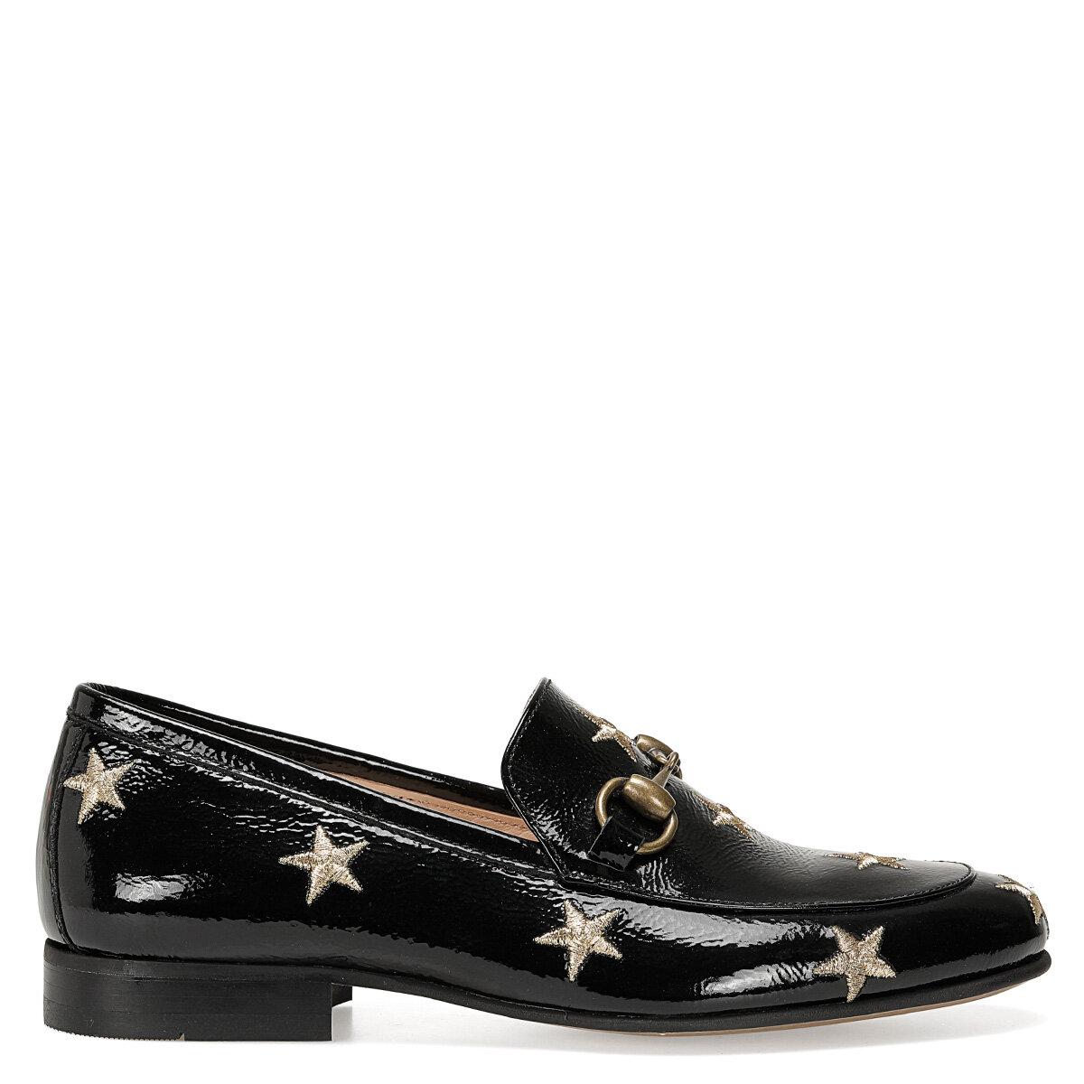 GILA2 Siyah Kadın Loafer Ayakkabı