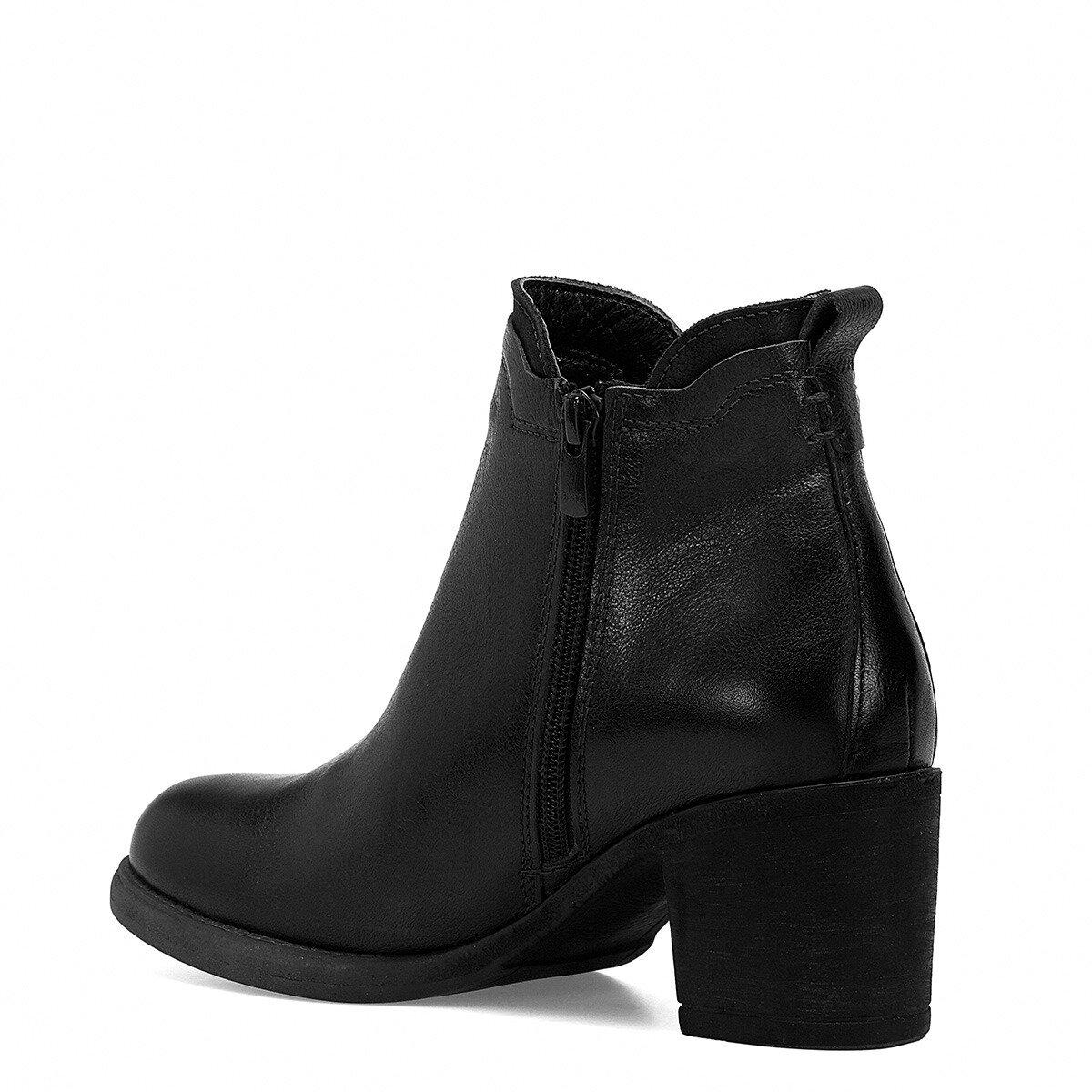 BOLDA Siyah Kadın Topuklu Bot