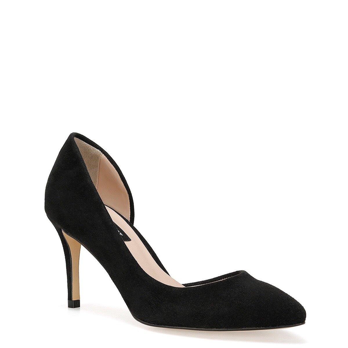 TIKKA Siyah Kadın Topuklu Ayakkabı