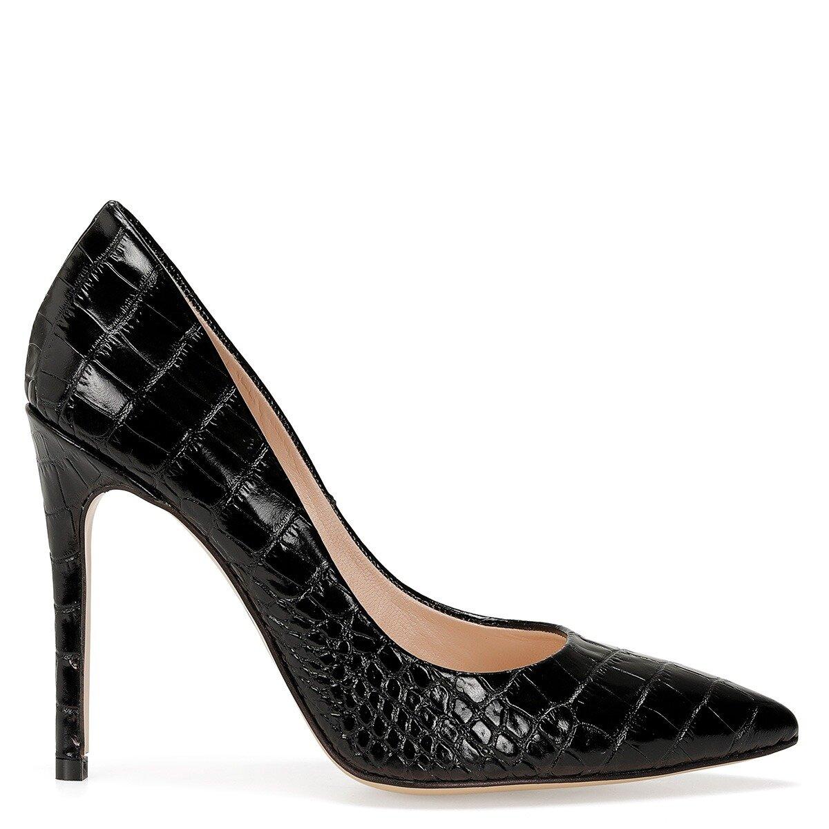 TULIPA2 Siyah Kadın Stiletto