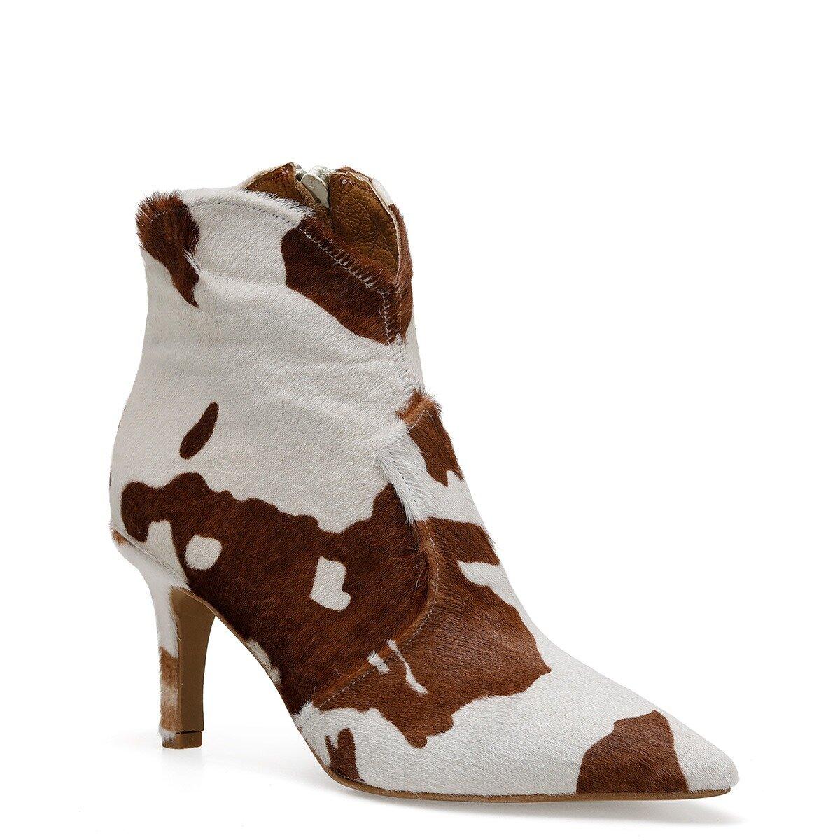 COWINA2 Kahverengi Kadın Topuklu Bot