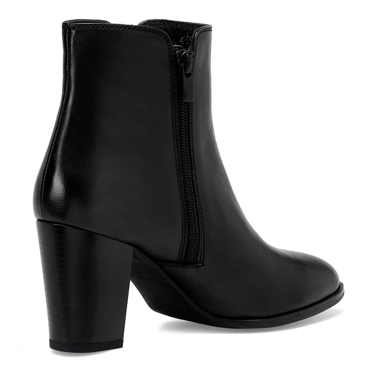 HEDEN Siyah Kadın Topuklu Bot