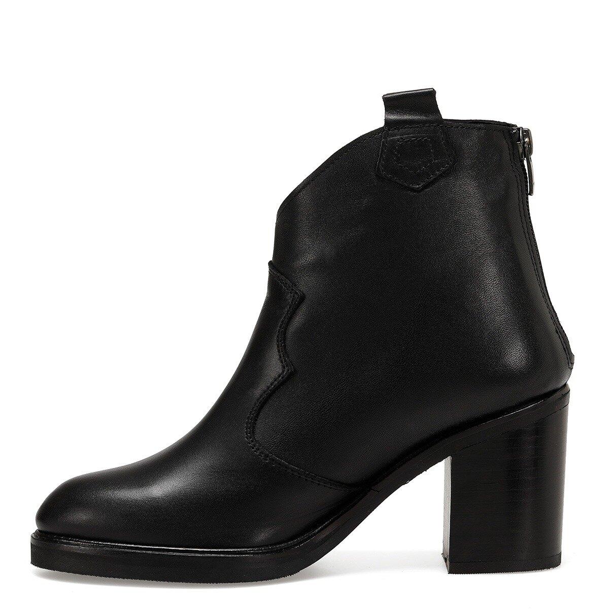 NADA Siyah Kadın Topuklu Bot