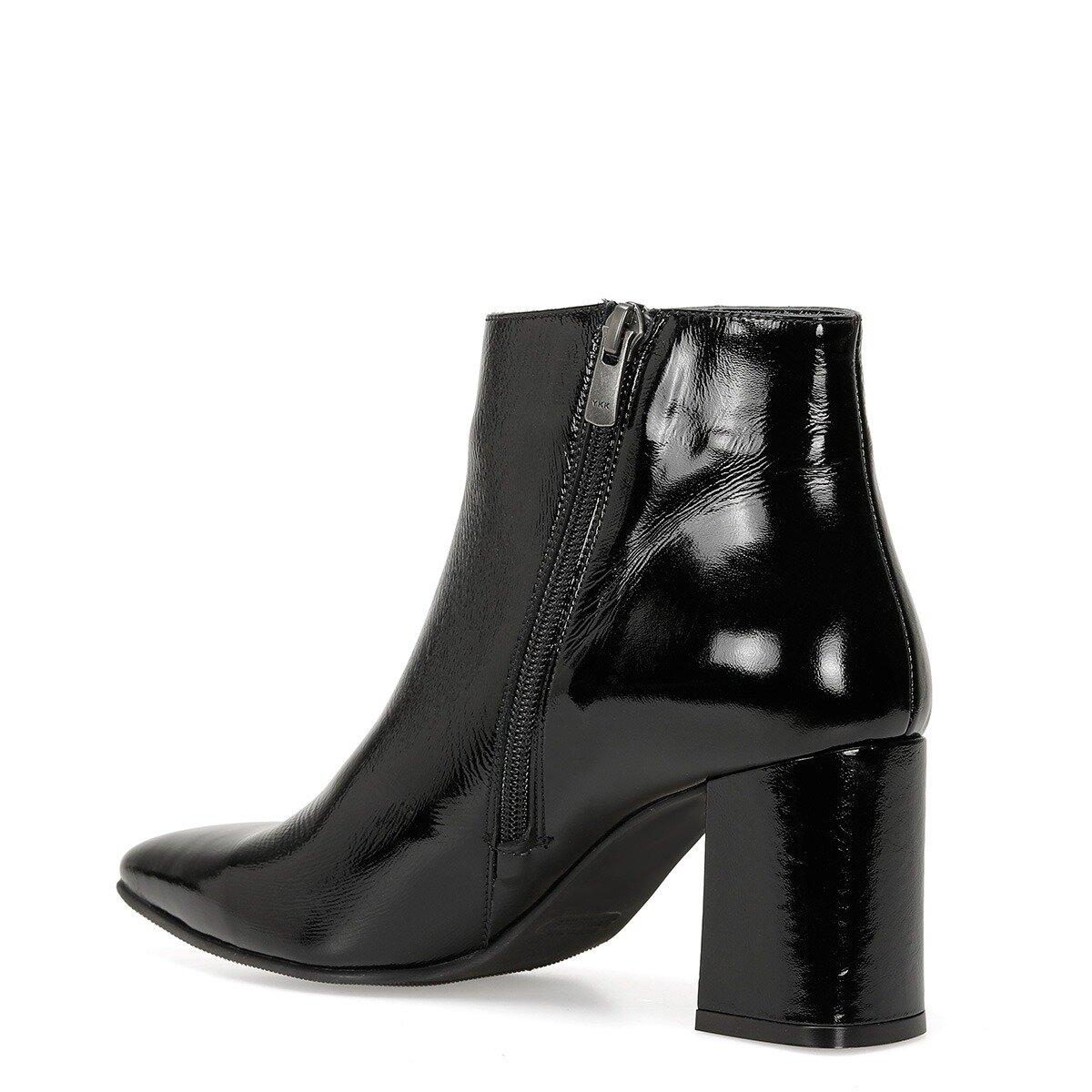 GALO3 Siyah Kadın Topuklu Ayakkabı