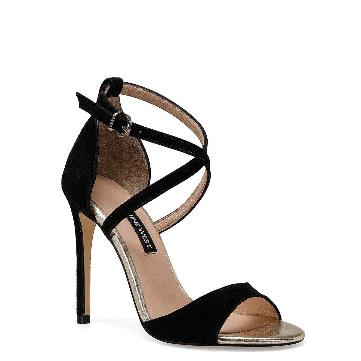 MORINA Siyah Kadın Topuklu Ayakkabı