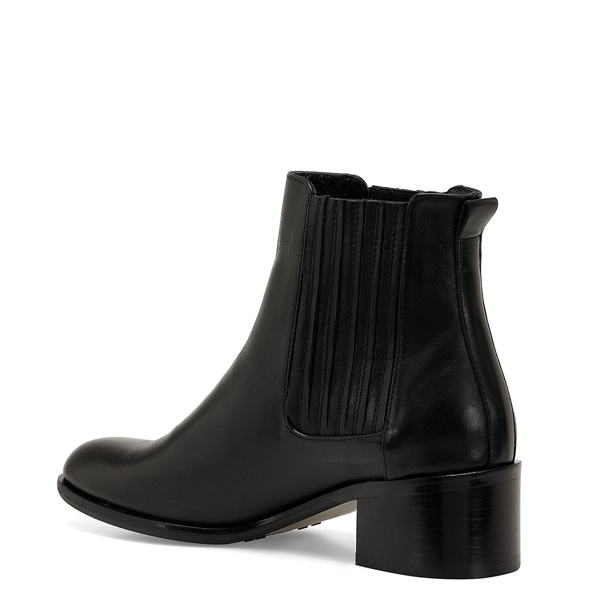 GALYANO Siyah Kadın Topuklu Bot