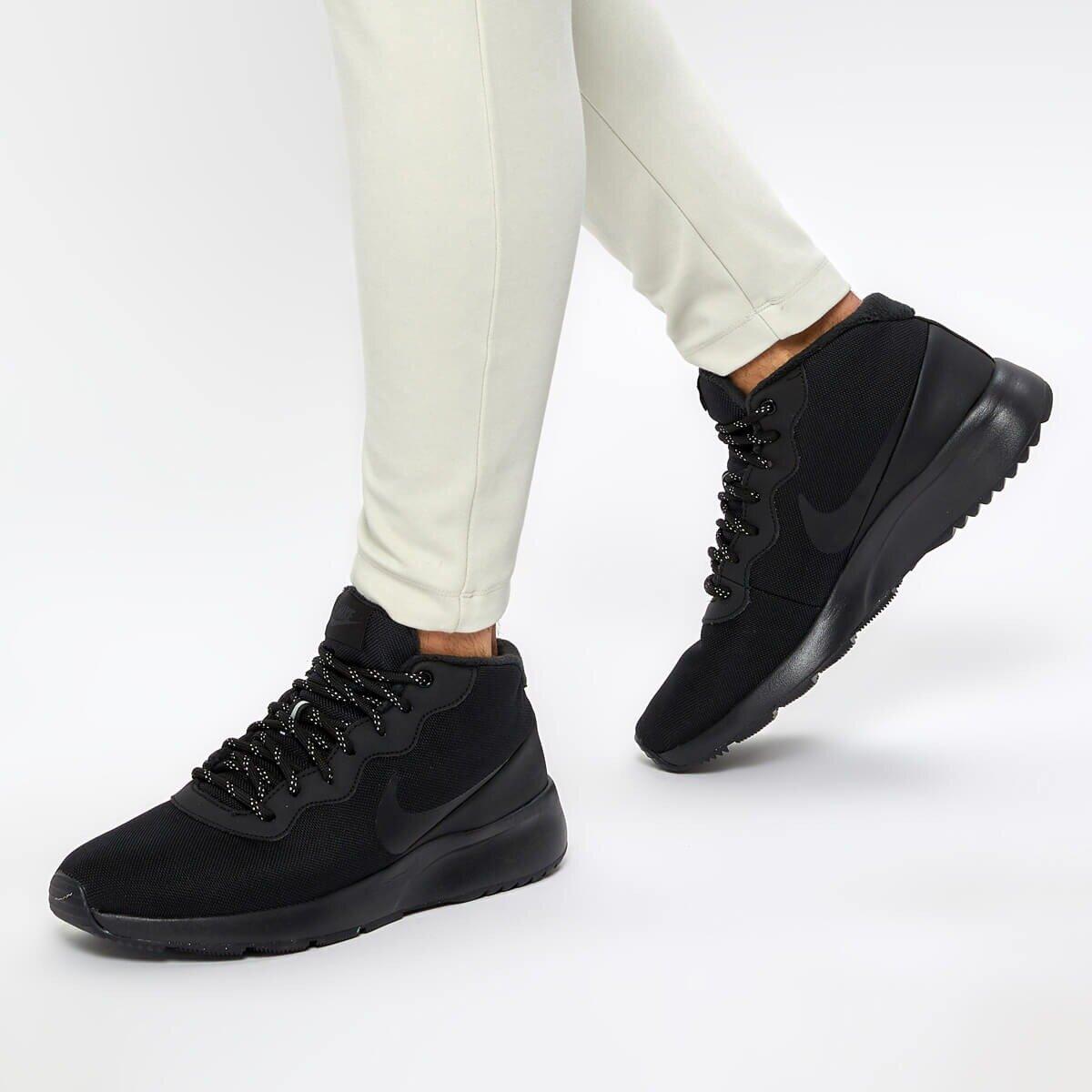 TANJUN CHUKKA Siyah Erkek Koşu Ayakkabısı