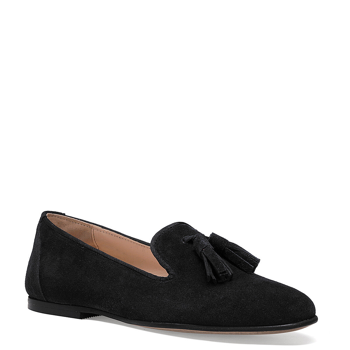 PANTO Siyah Kadın Loafer Ayakkabı