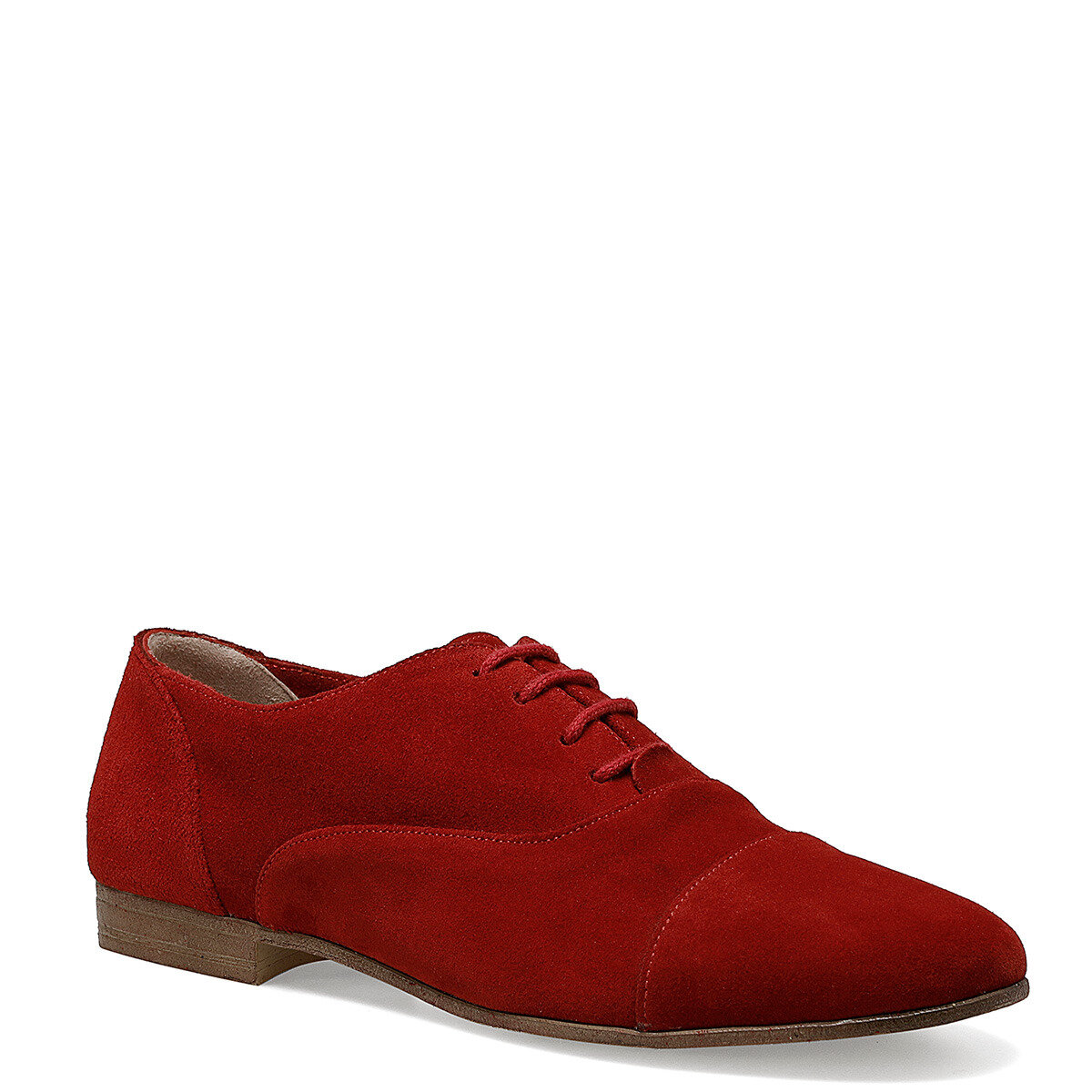 BELANO Kırmızı Kadın Maskulen Ayakkabı
