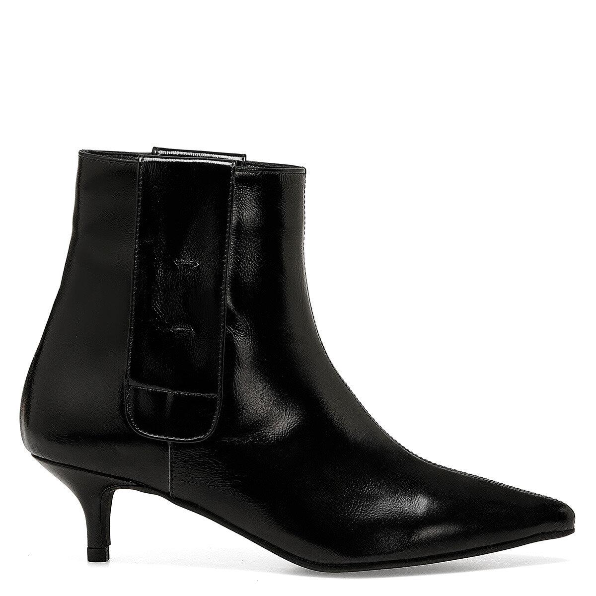 SHINE Siyah Kadın Topuklu Bot