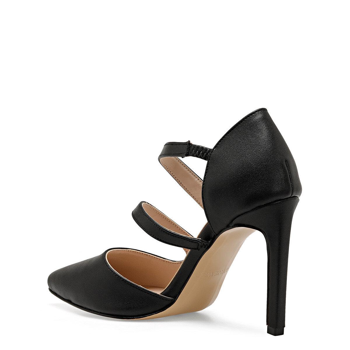 RAFON Siyah Kadın Stiletto