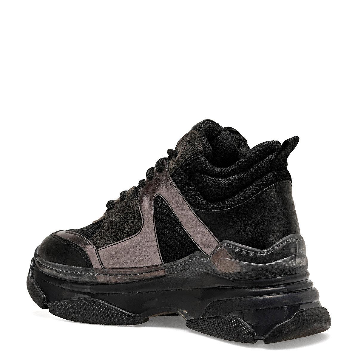REGRET Siyah Kadın Ayakkabı