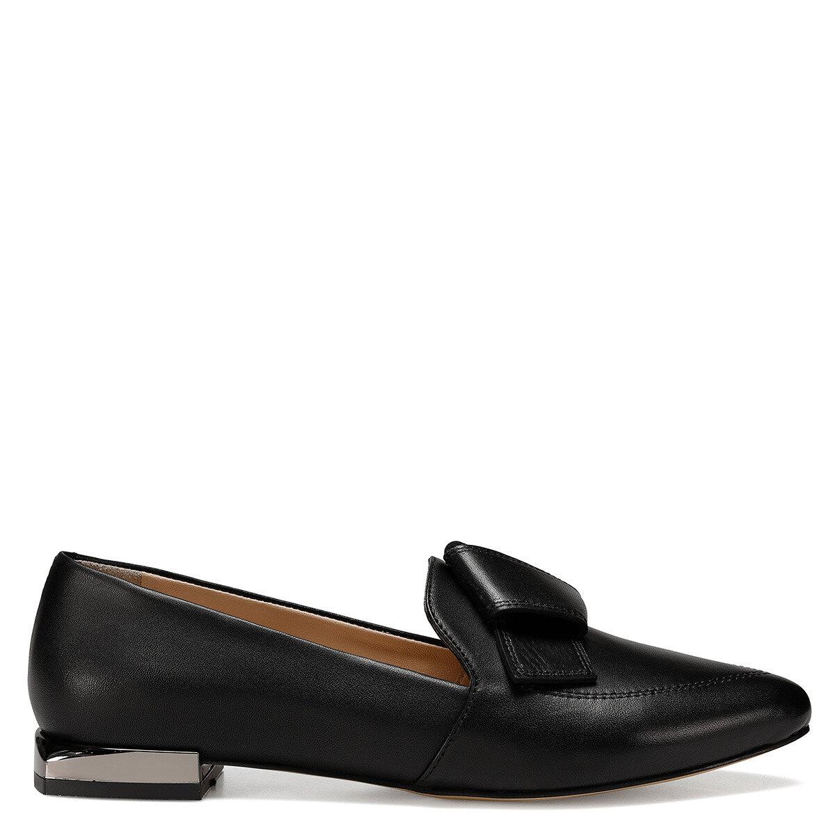 GALE Siyah Kadın Loafer Ayakkabı