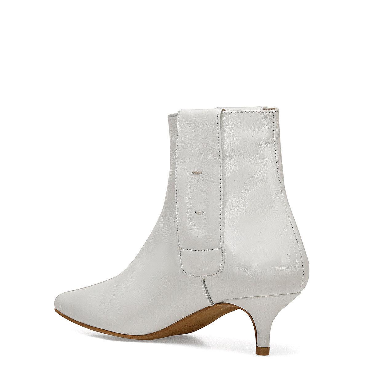 SHINE Beyaz Kadın Topuklu Bot