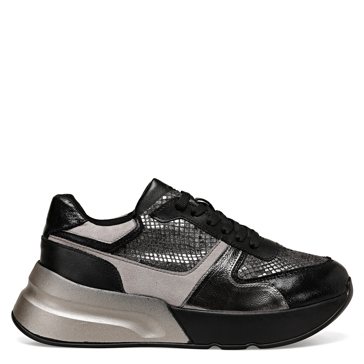 ROLLER Metalik Gri Kadın Ayakkabı