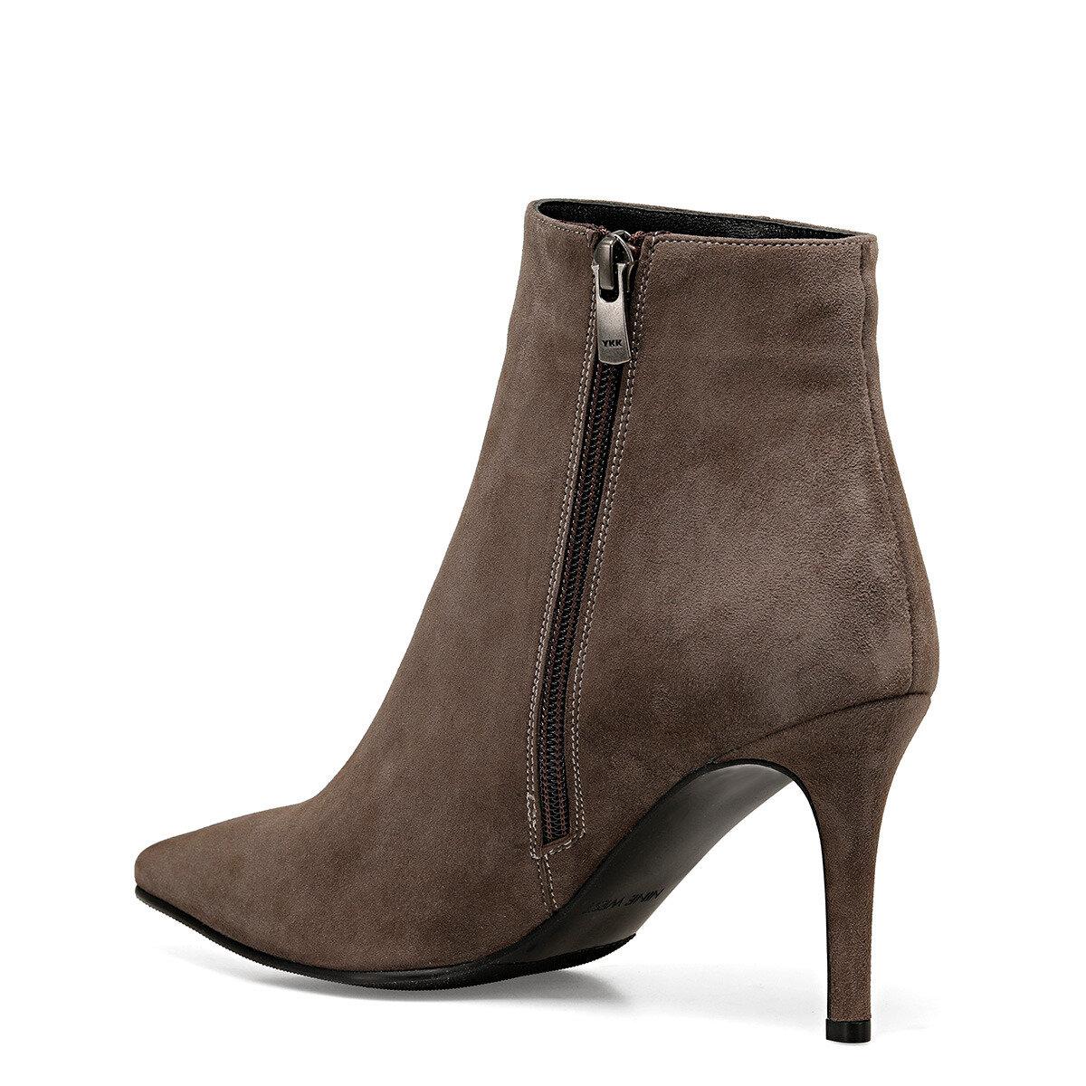 SHELLY2 Vizon Kadın Topuklu Ayakkabı