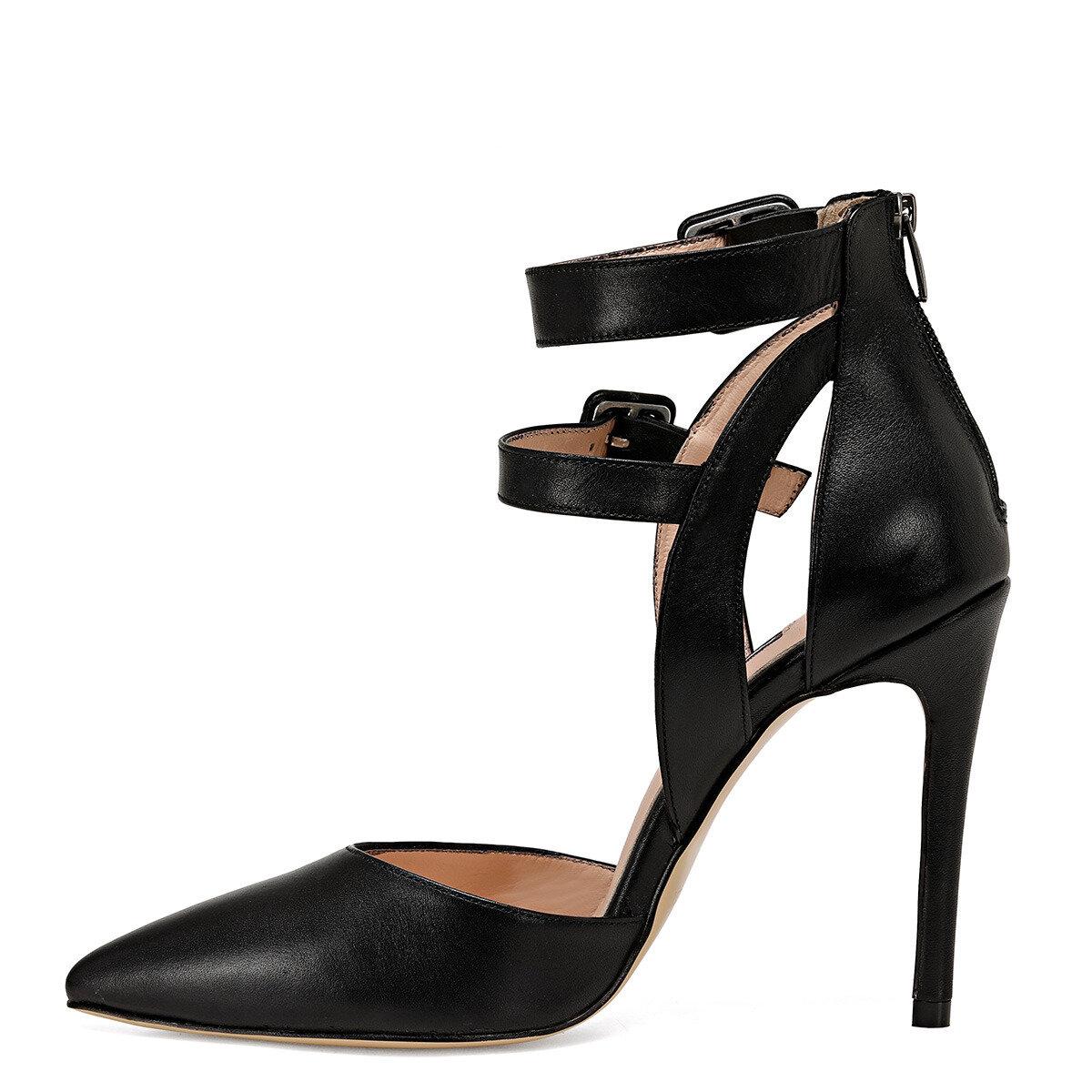 TEMPO Siyah Kadın Stiletto