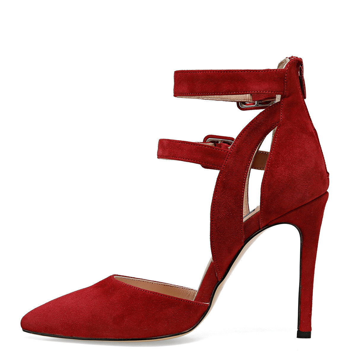 TEMPO Kırmızı Kadın Stiletto