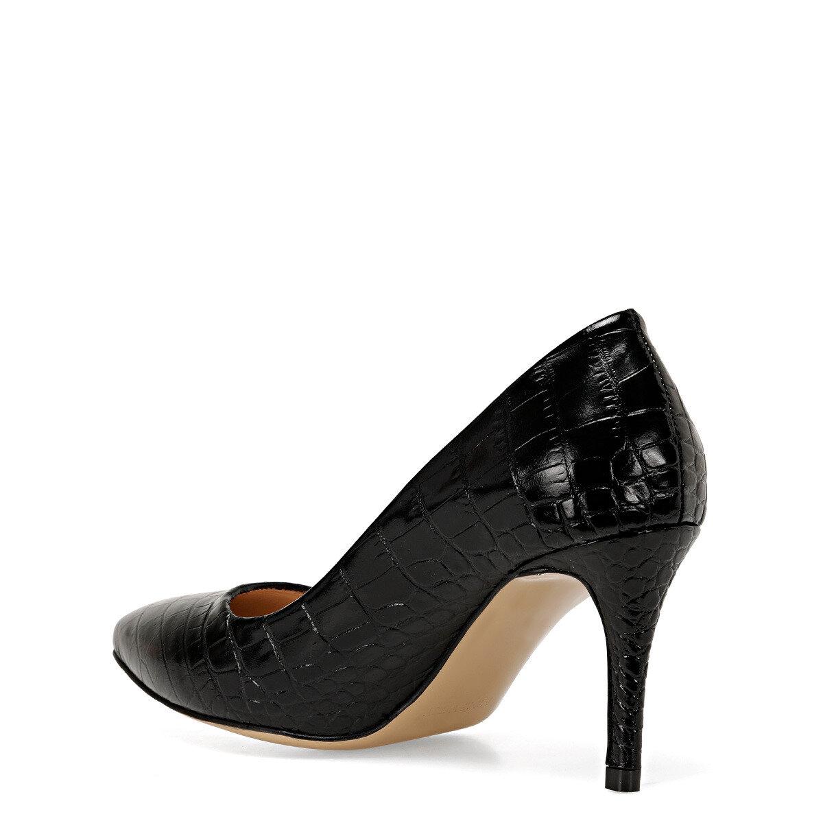CHARLENE Siyah Kadın Topuklu Ayakkabı