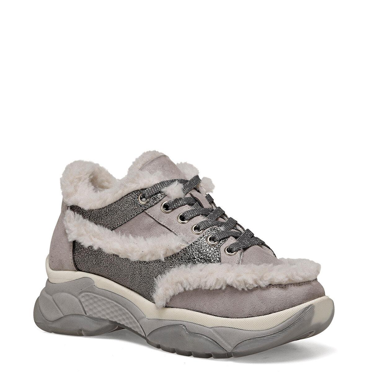 FRIO Gri Kadın Sneaker Ayakkabı