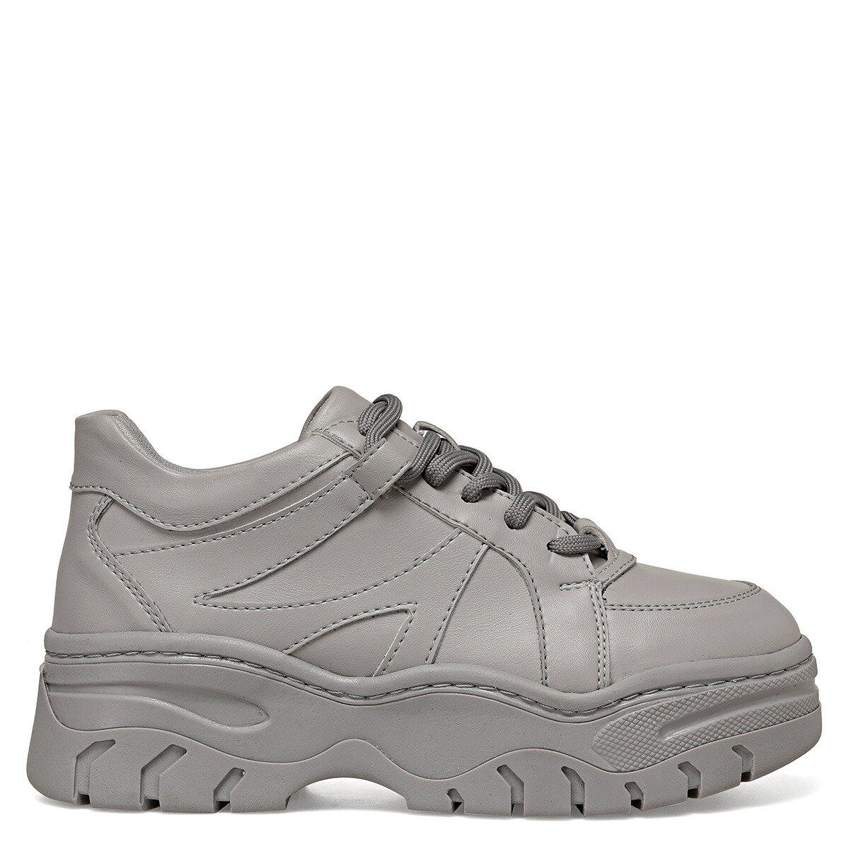 RUFFLE Gri Kadın Ayakkabı