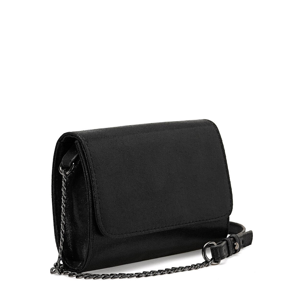 BELTY Siyah Kadın Çapraz Çanta