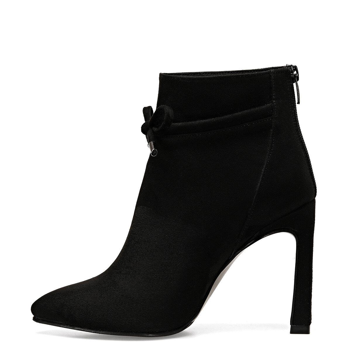 RIMI Siyah Kadın Topuklu Bot