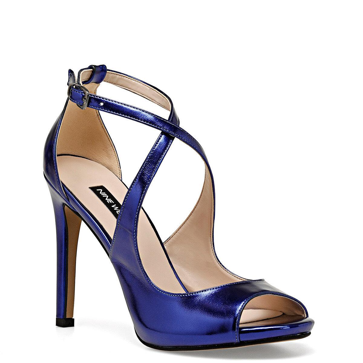 MILLA Saks Kadın Topuklu Ayakkabı