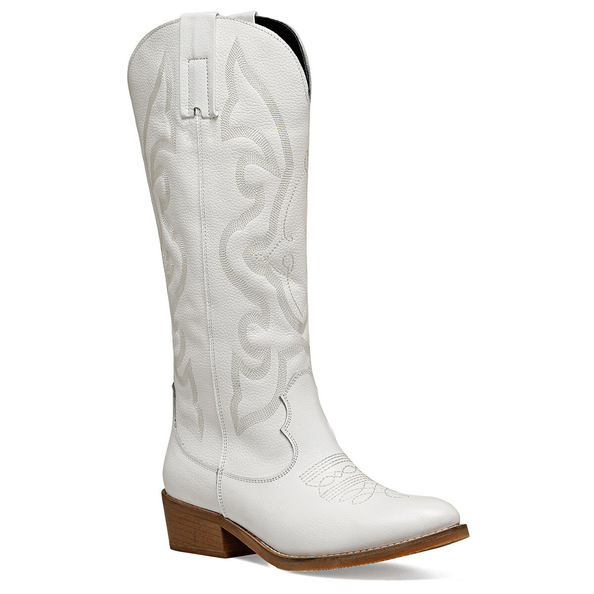 WESTI Beyaz Kadın Çizme