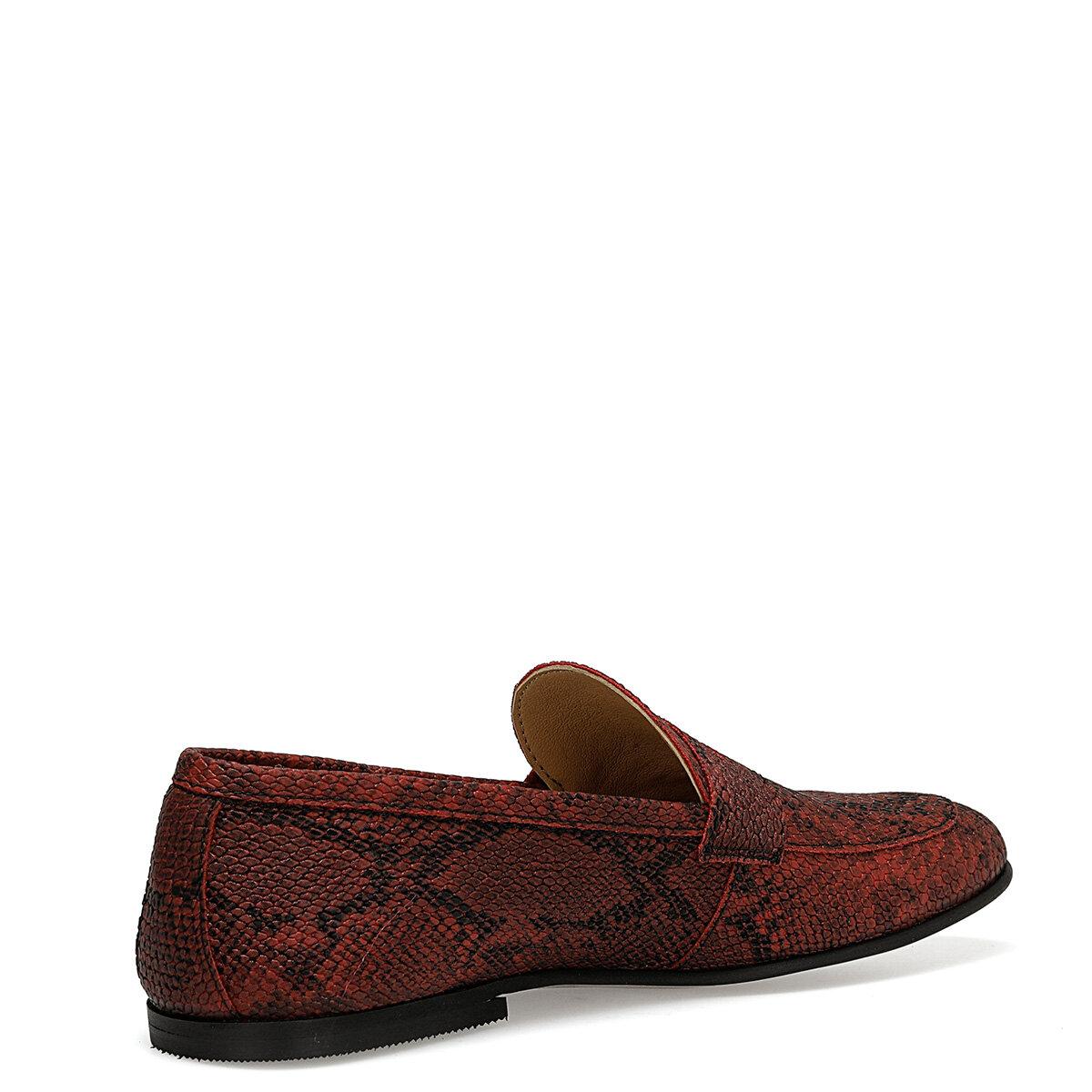 NORAN Kırmızı Kadın Loafer Ayakkabı