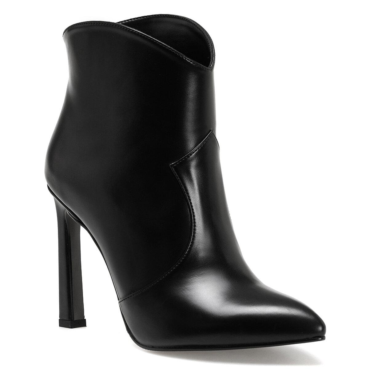 RUSSO Siyah Kadın Topuklu Bot