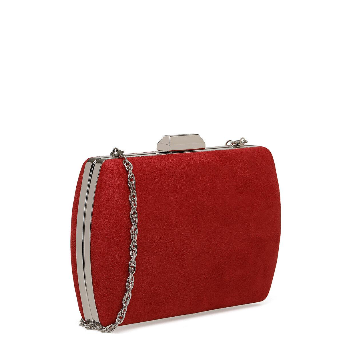 BIGHOT Kırmızı Kadın Portföy Çanta