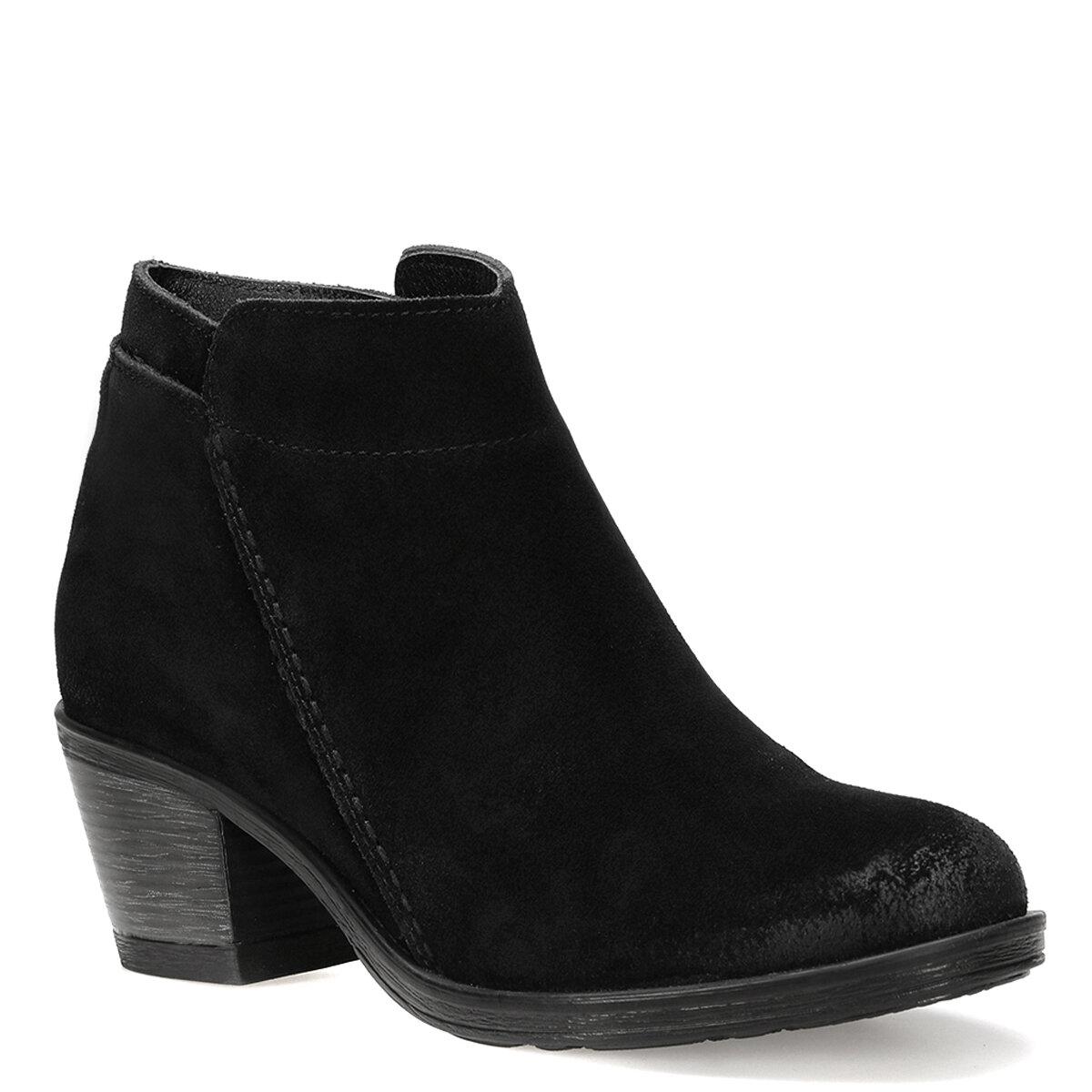 BOLCI Siyah Kadın Topuklu Bot
