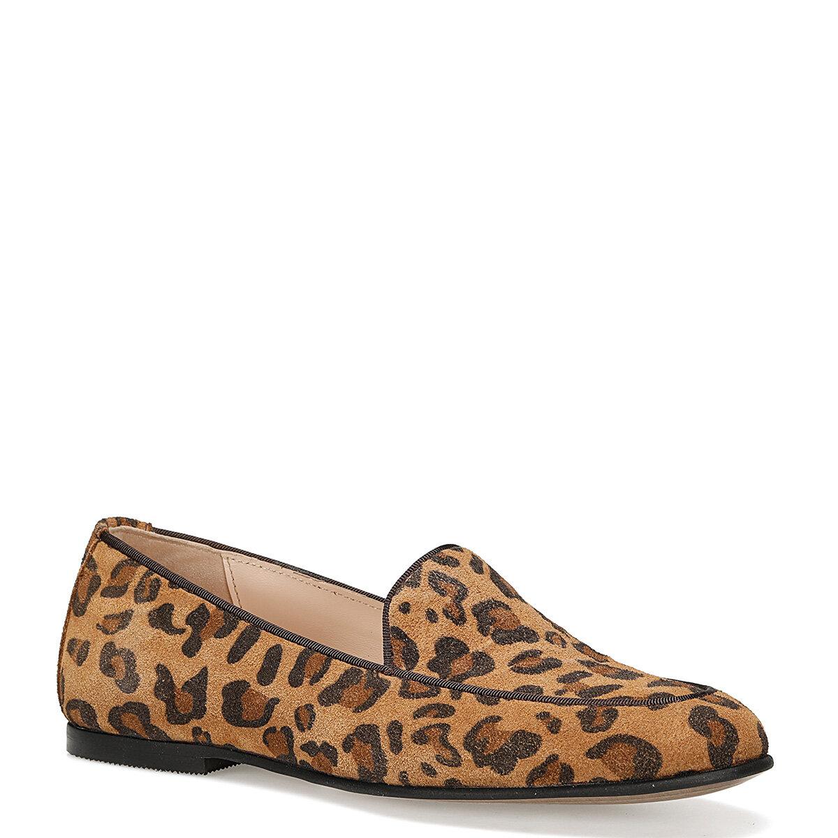 GARME Taba Kadın Loafer Ayakkabı