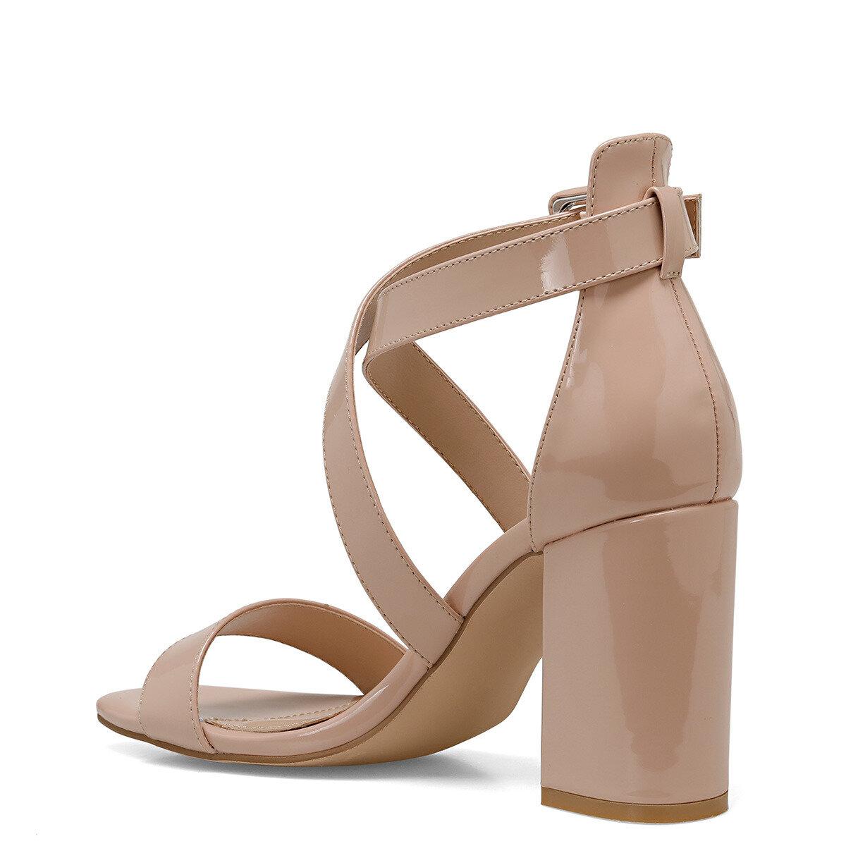 LAURA Naturel Kadın Topuklu Ayakkabı