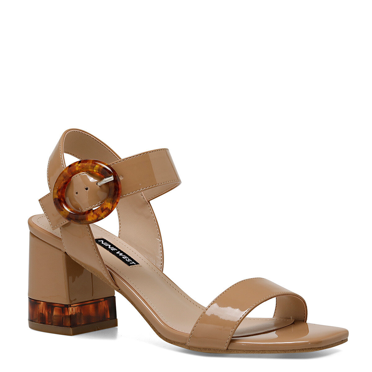 LENA Naturel Kadın Topuklu Sandalet
