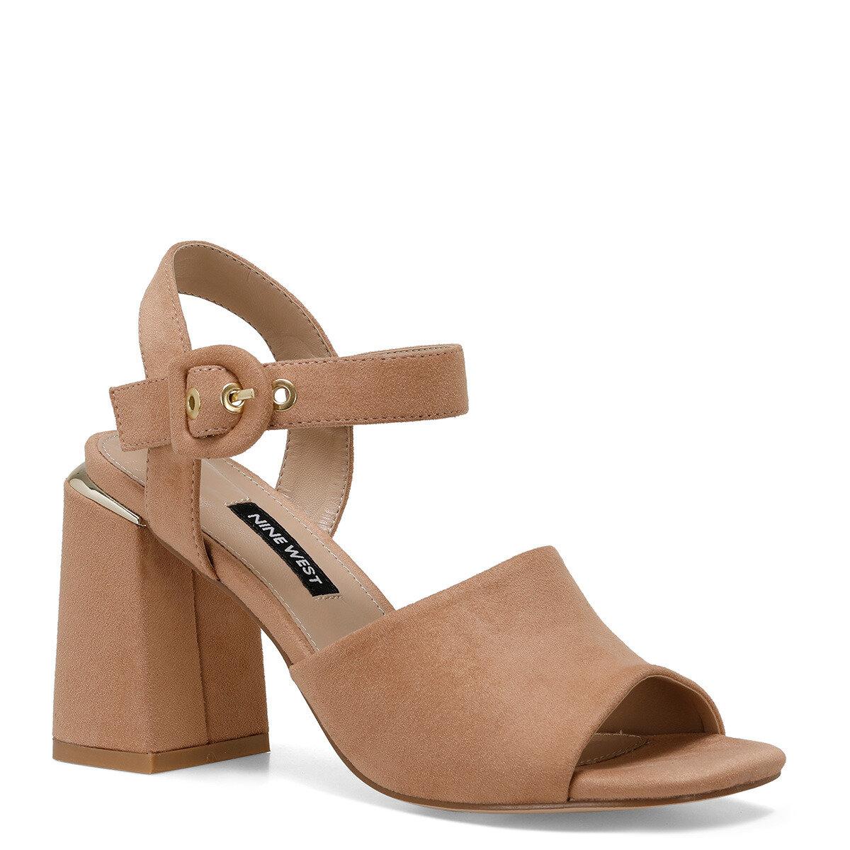 LONELLA Naturel Kadın Topuklu Sandalet