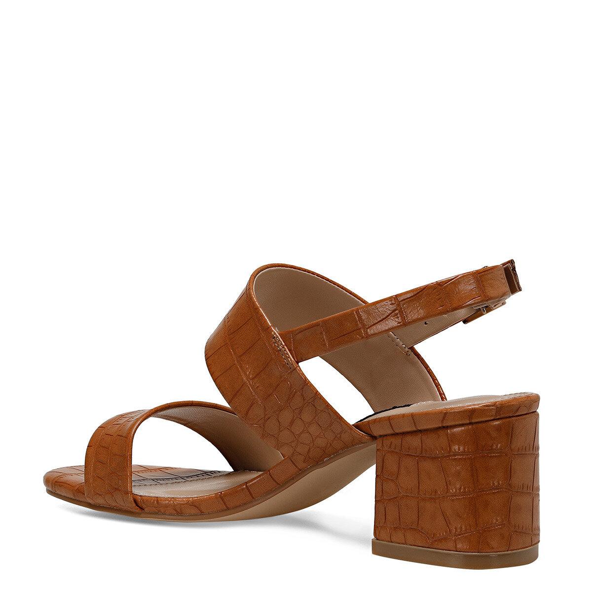 LOREN Camel Kadın Topuklu Sandalet