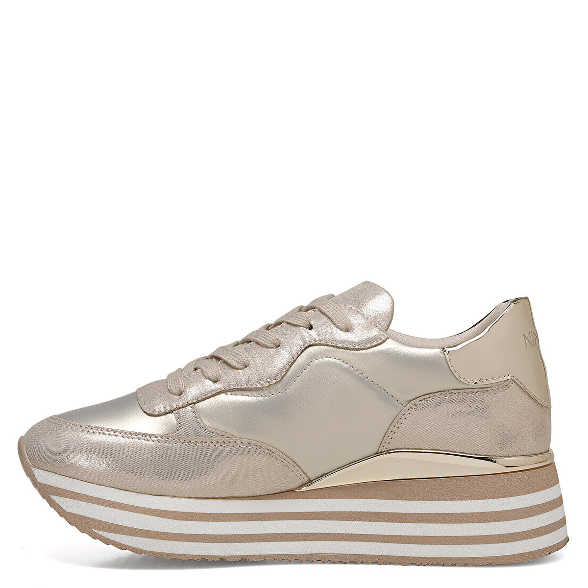 RONDA Altın Kadın Sneaker