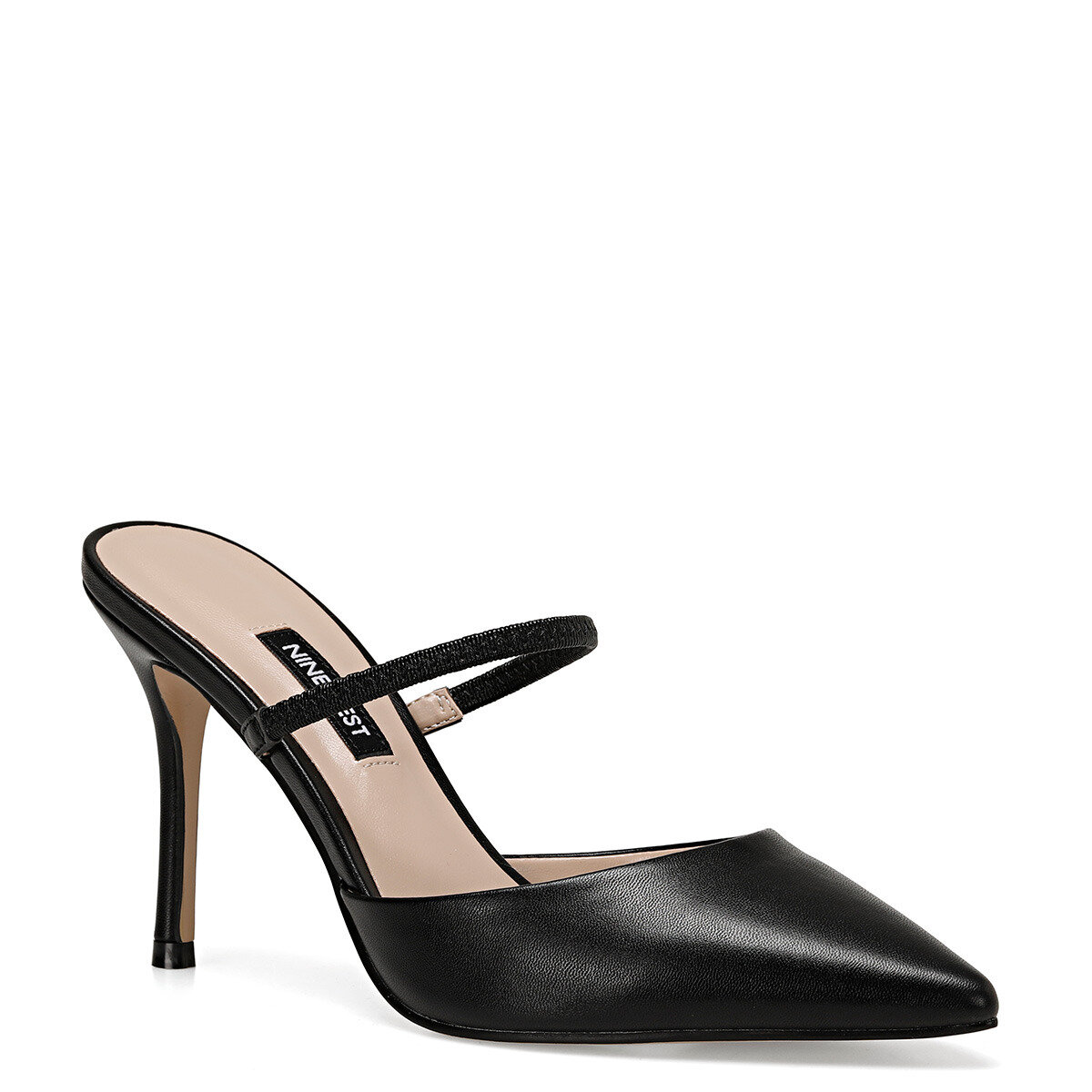 TIGO Siyah Kadın Stiletto