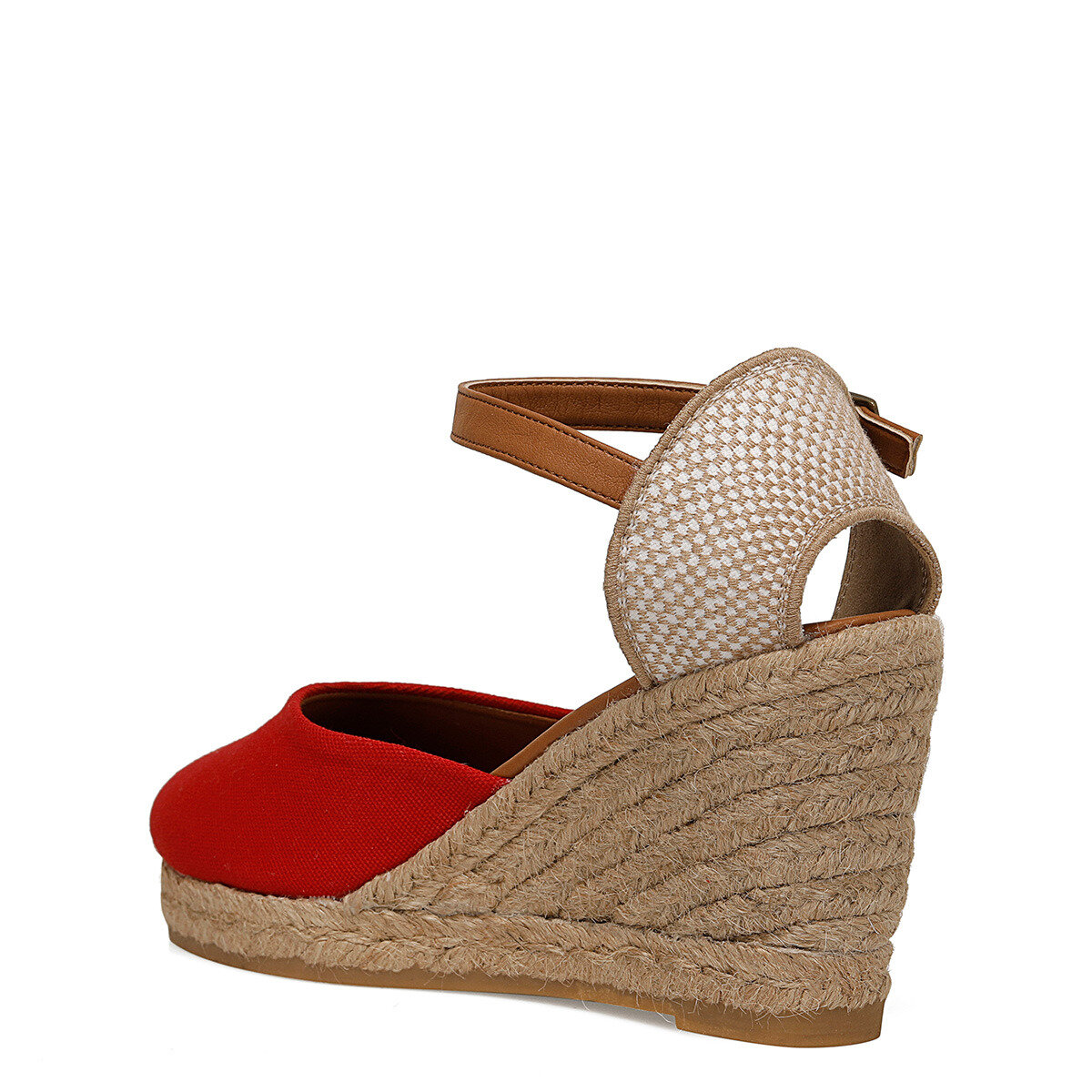 ARTEMISIA Kırmızı Kadın Dolgu Topuklu Sandalet
