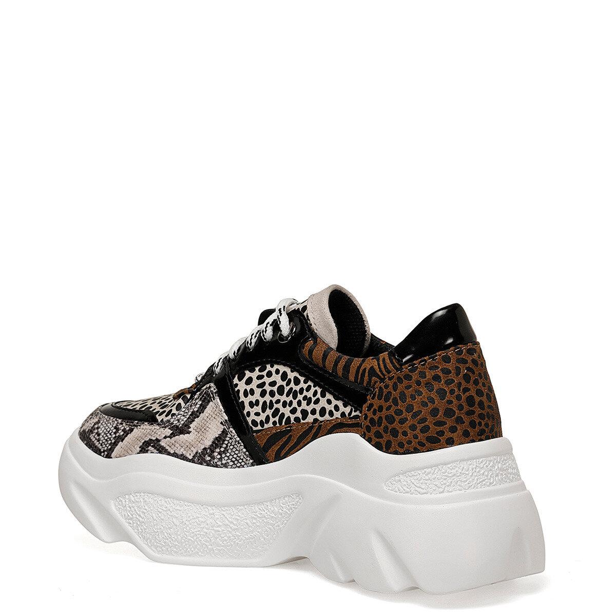 VERMEER SIYAH MULTI Kadın Sneaker