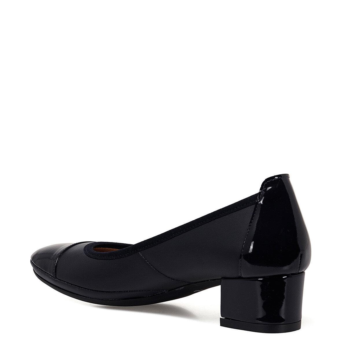 FLEXINE Lacivert Kadın Topuklu Ayakkabı