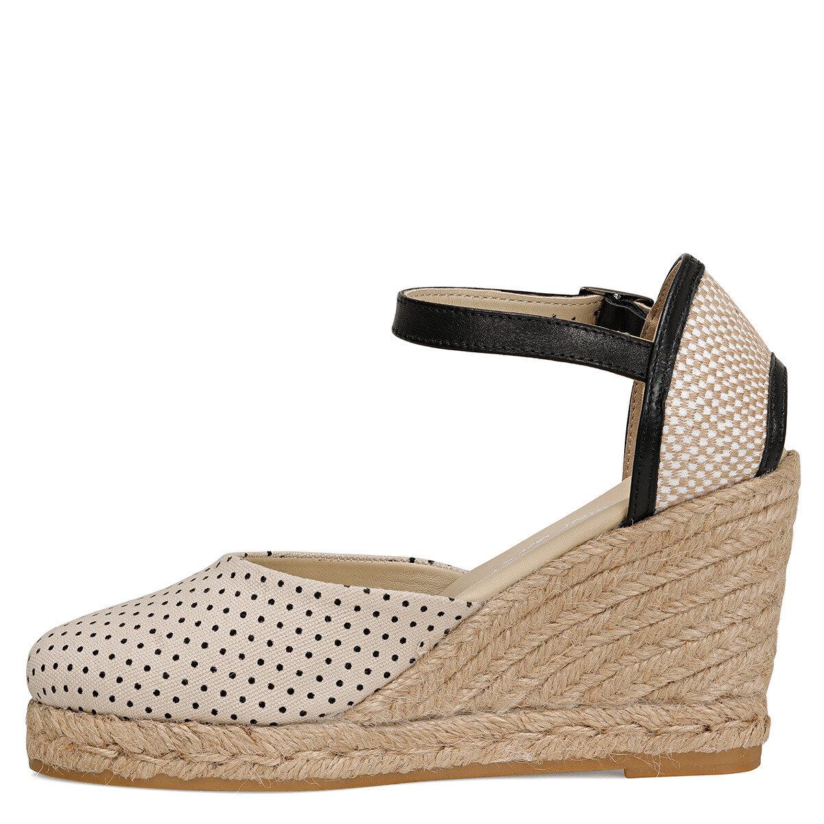 KAHLO Bej Kadın Topuklu Ayakkabı